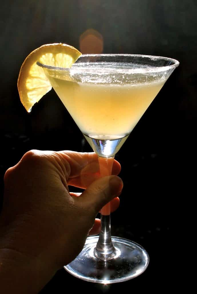 how to make lemon drop martinis by the pitcher