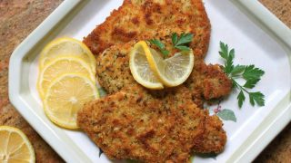 Christina's Breaded Pork Schnitzel