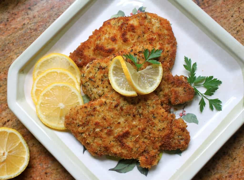 Christina's Breaded Pork Schnitzel - Christina's Cucina