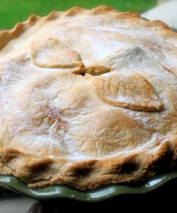 British Style Apple Pie