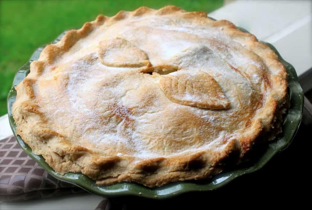 British Style Apple Pie
