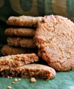 Naturally Gluten Free Peanut ButterCookies
