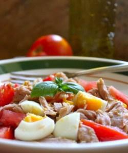 Zia Maria's Tuna, Egg and Tomato Salad