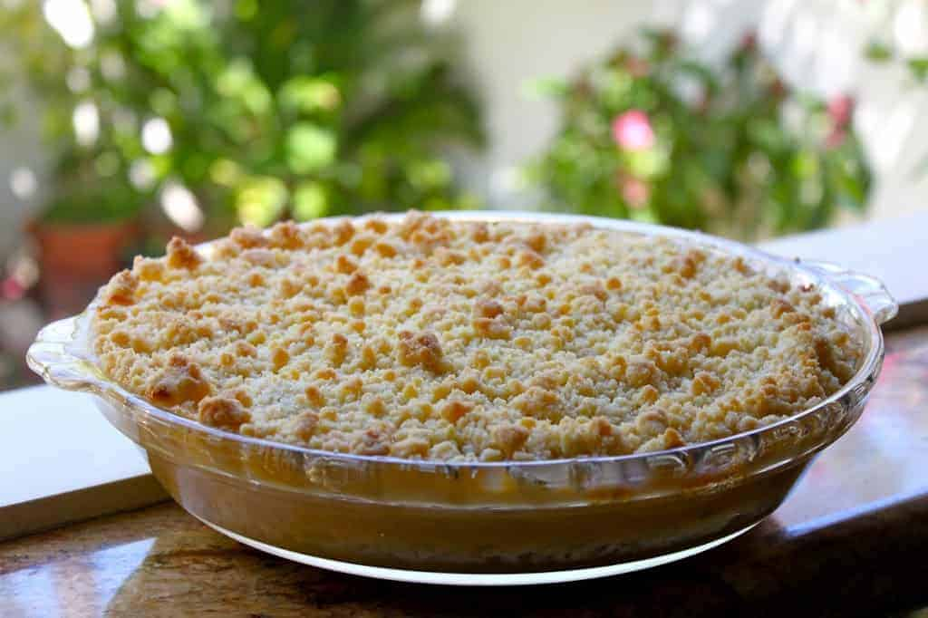 Best apple crumble ever