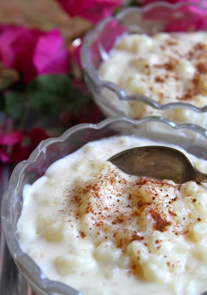 Rice pudding is also delicious when served cold. Add some chopped ...