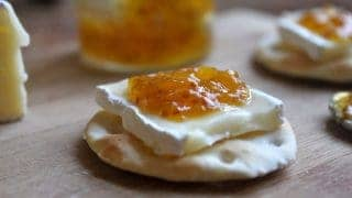 Brie and Fig Jam Appetizers (they're even Hollywood Bowl-worthy)