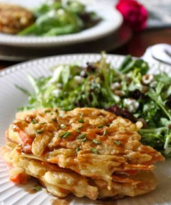 carrot potato pancakes recipe healthy summer lunch unprocessed
