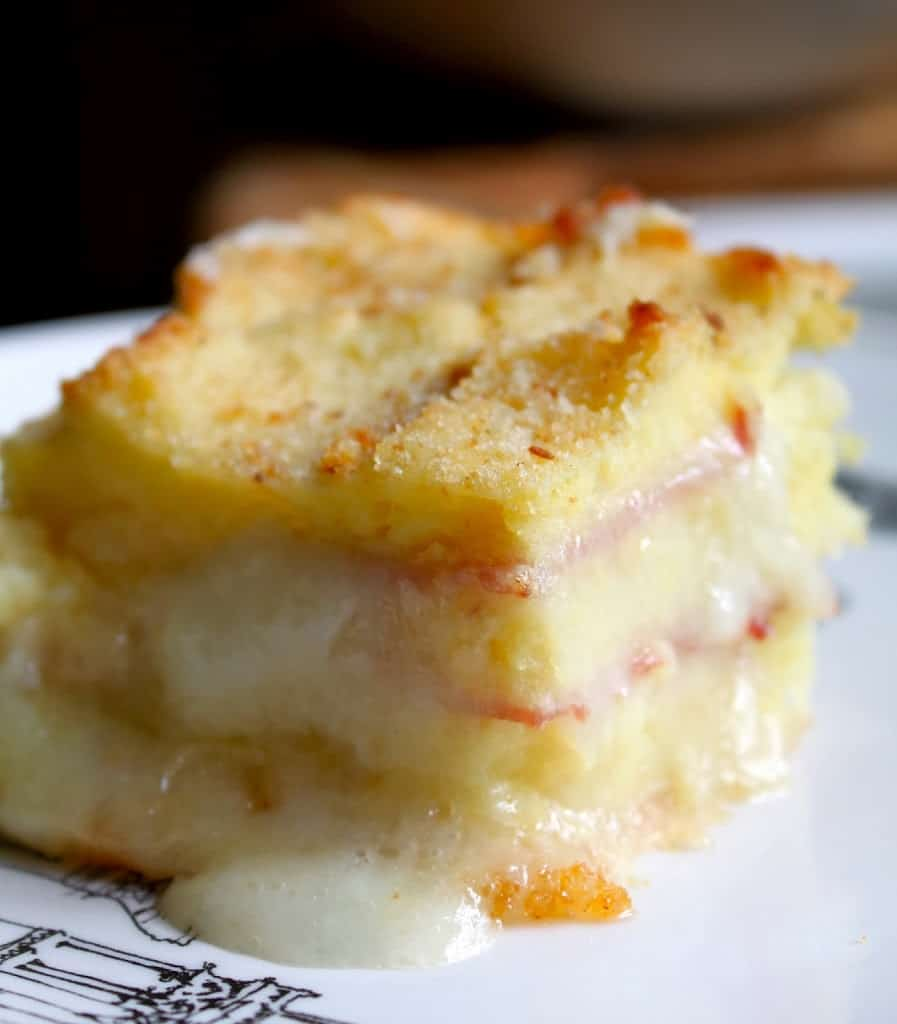 ham cheese mashed potatoes leftovers bake melt recipe original homemade