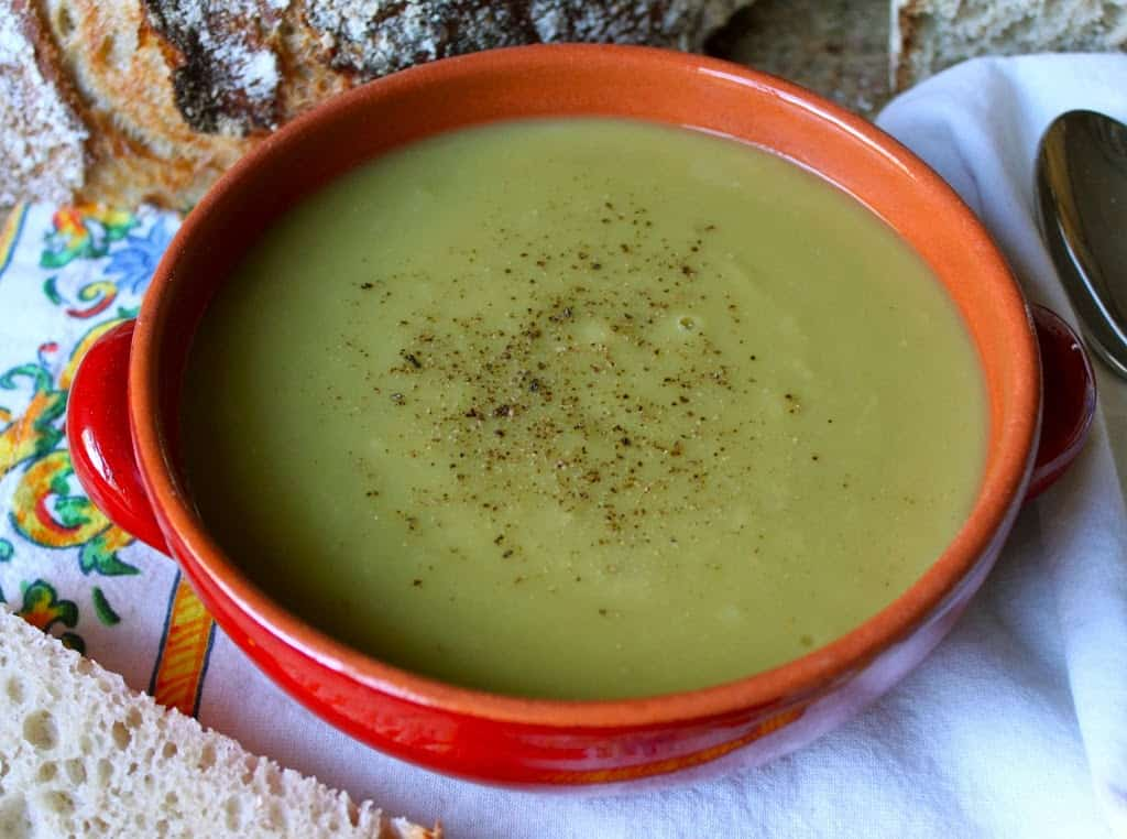 Split Pea and Potato Soup (without ham) - Christina's Cucina