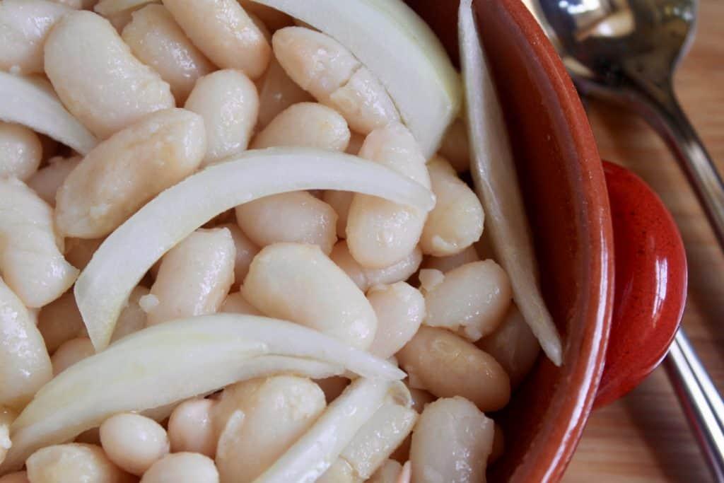 Italian Cannellini bean salad