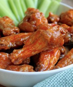 No fry hot wings (Buffalo Wings)