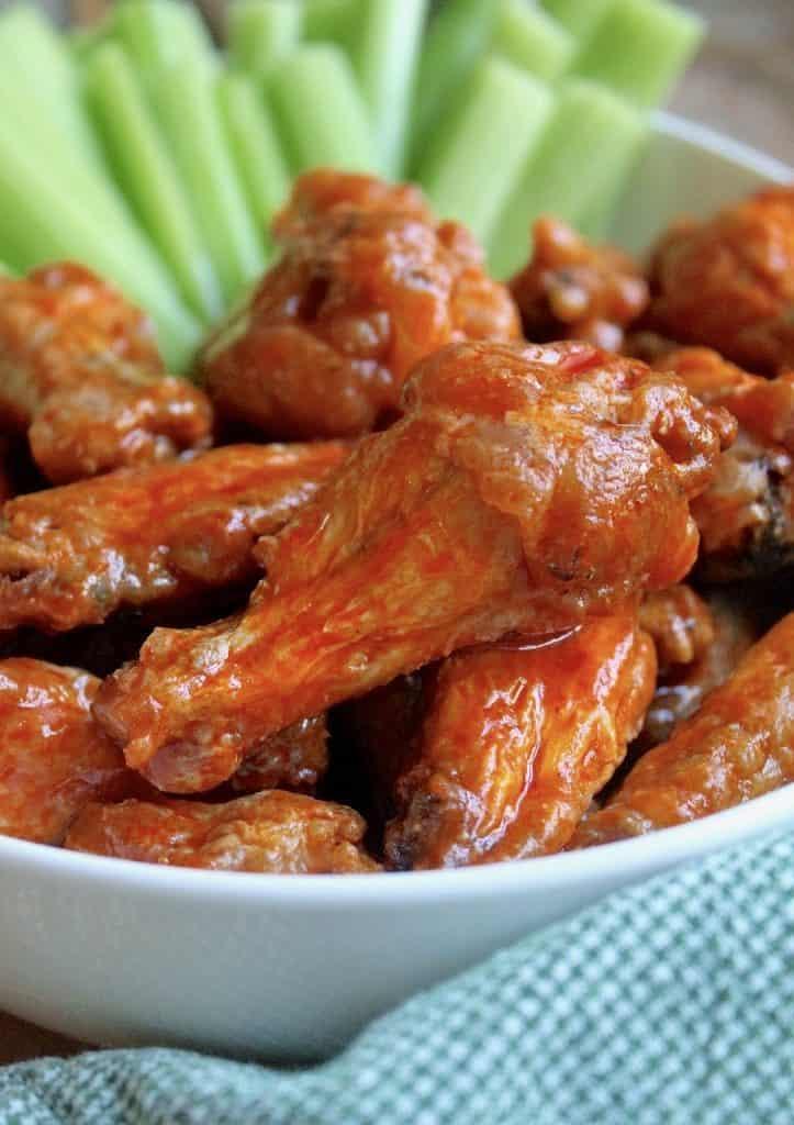 No fry hot wings (Buffalo Wings)