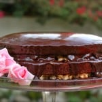 Inside Out German Chocolate Cake