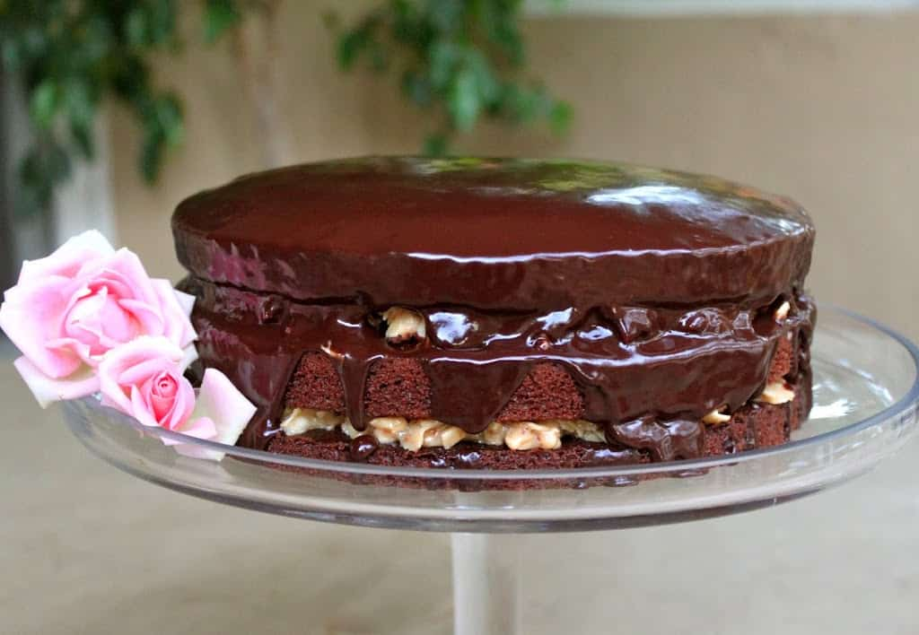 Inside-Out German Chocolate Cake - Christina's Cucina