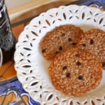 Caramel Currant Oat Crisps: My Entry for the Fonseca Bin 27 Cookie Rumble 2013
