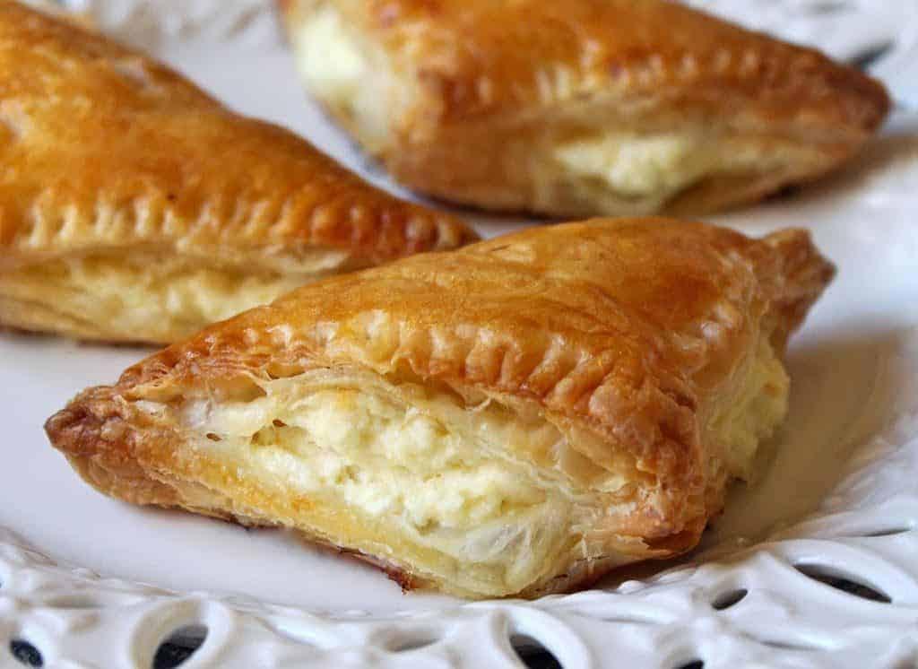 Tiropita Greek-style feta cheese appetizer