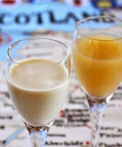 Atholl Brose (With and Without Cream) A Traditional Scottish Drink for Hogmanay (New Year's Eve)