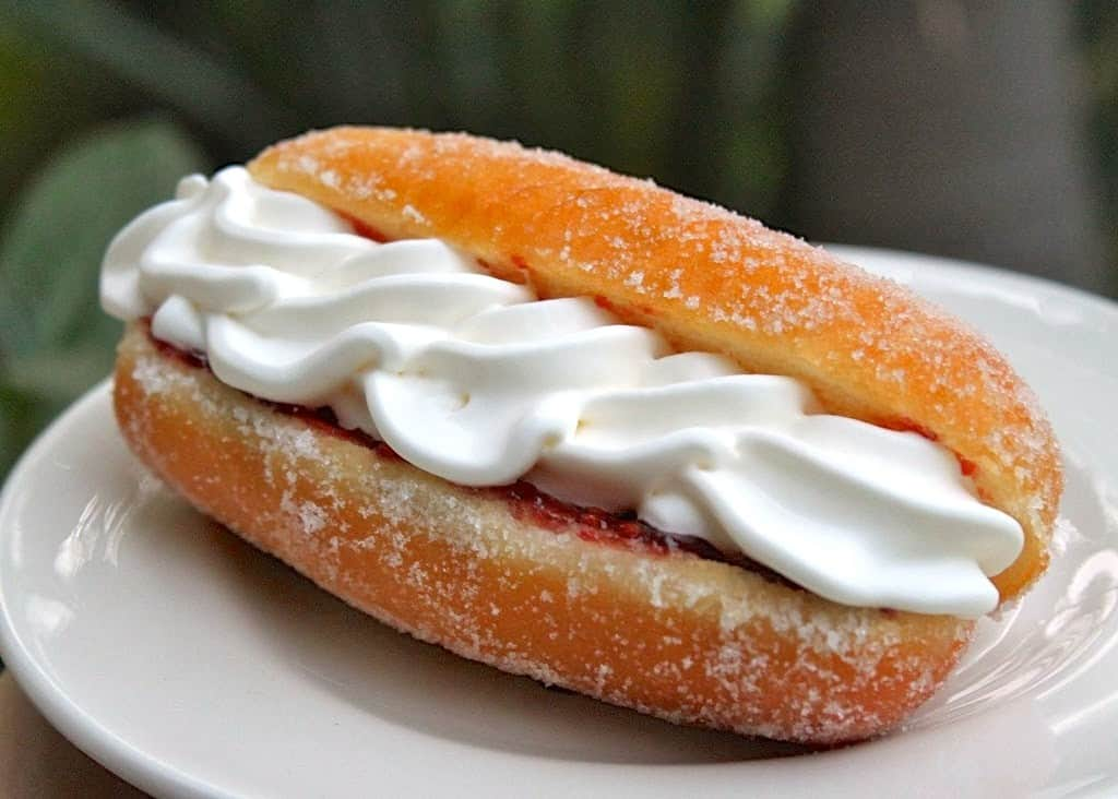 Cream Doughnut like in Scotland