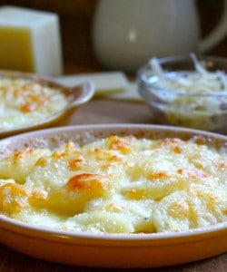 Gratin Dauphinois (a French Potato & Cheese Dish) and Meeting a Culinary Idol: Anne Willan