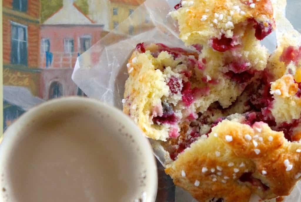 Cranberry and Orange Yogurt Muffins