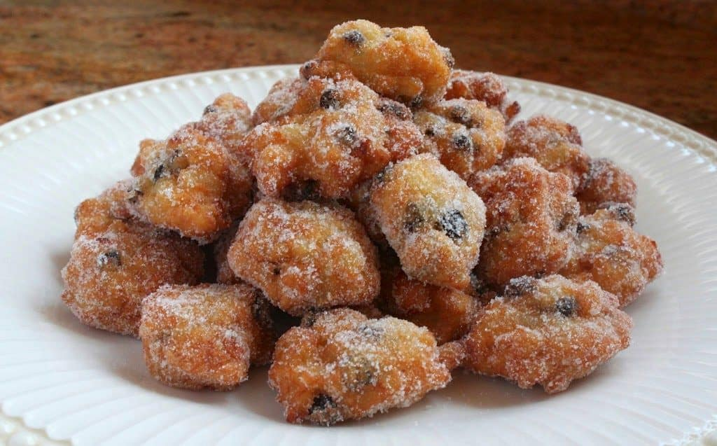 Traditional Italian Rice fritters for St Joseph's Day