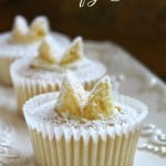 Traditional British Butterfly Cakes or Fairy Cakes (Cupcakes)