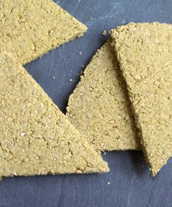 Scottish Oatcakes on slate