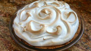 Chocolate Chip Cookie Baked Alaska Pie