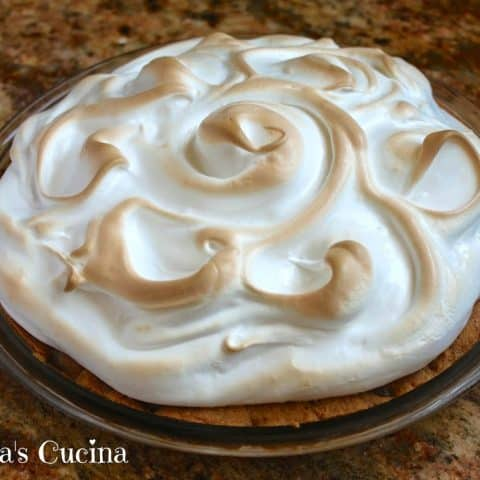 Chocolate Chip Cookie Baked Alaska