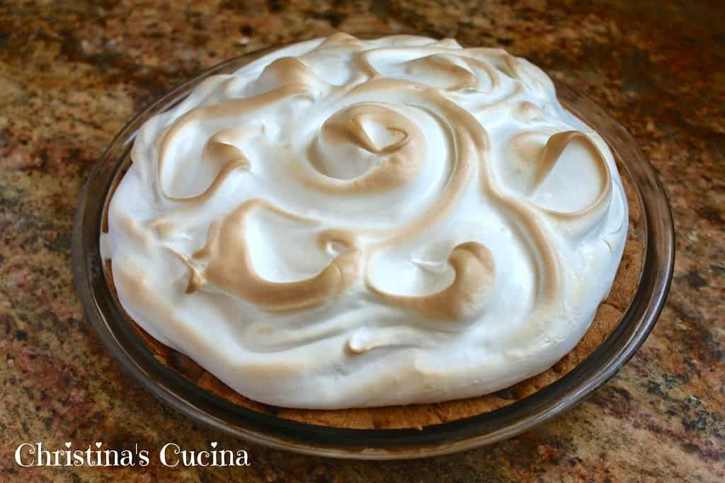 ... Suggest a Chocolate Chip Cookie Baked Alaska Pie? - Christina's Cucina