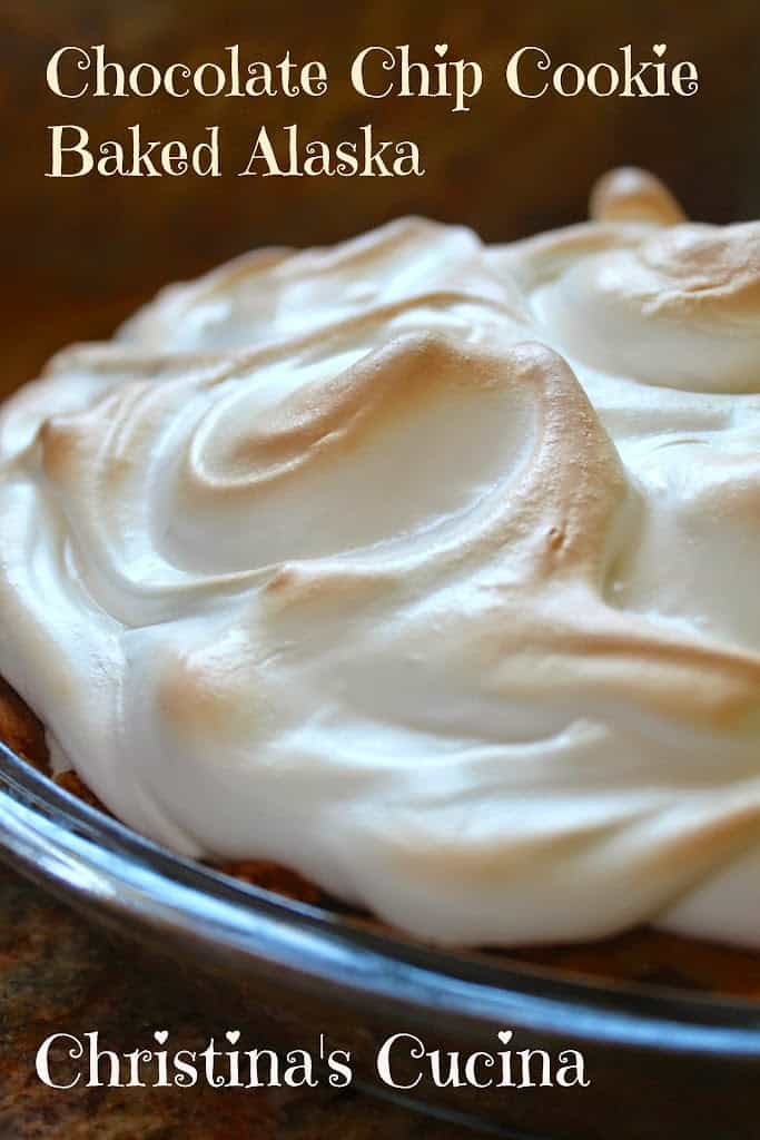 ... Fathers Day, may I Suggest a Chocolate Chip Cookie Baked Alaska Pie