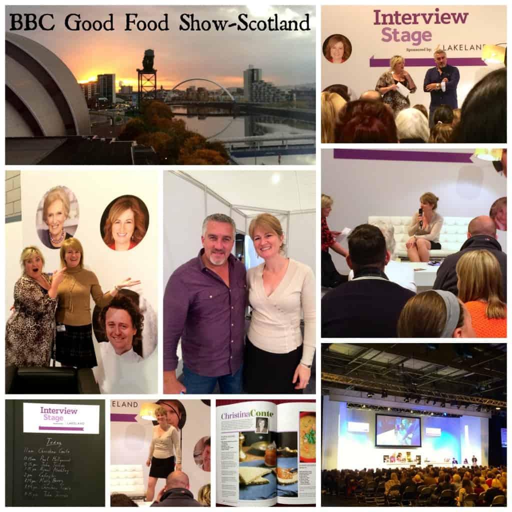 work with Christina's Cucina like the BBC GOod food show Glasgo