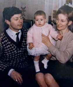 Christina as a baby