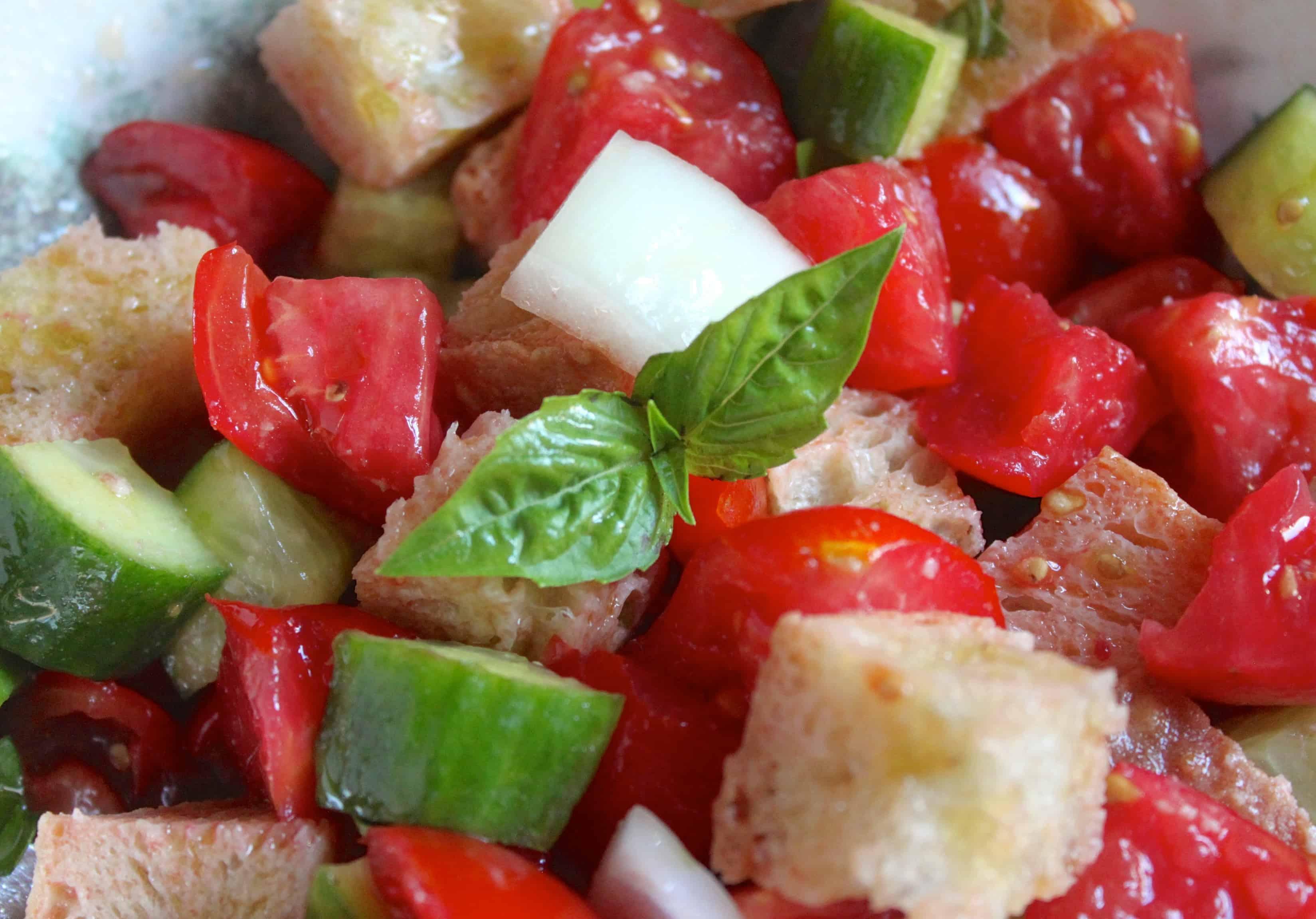 Panzanella: Italian Bread and Tomato Salad