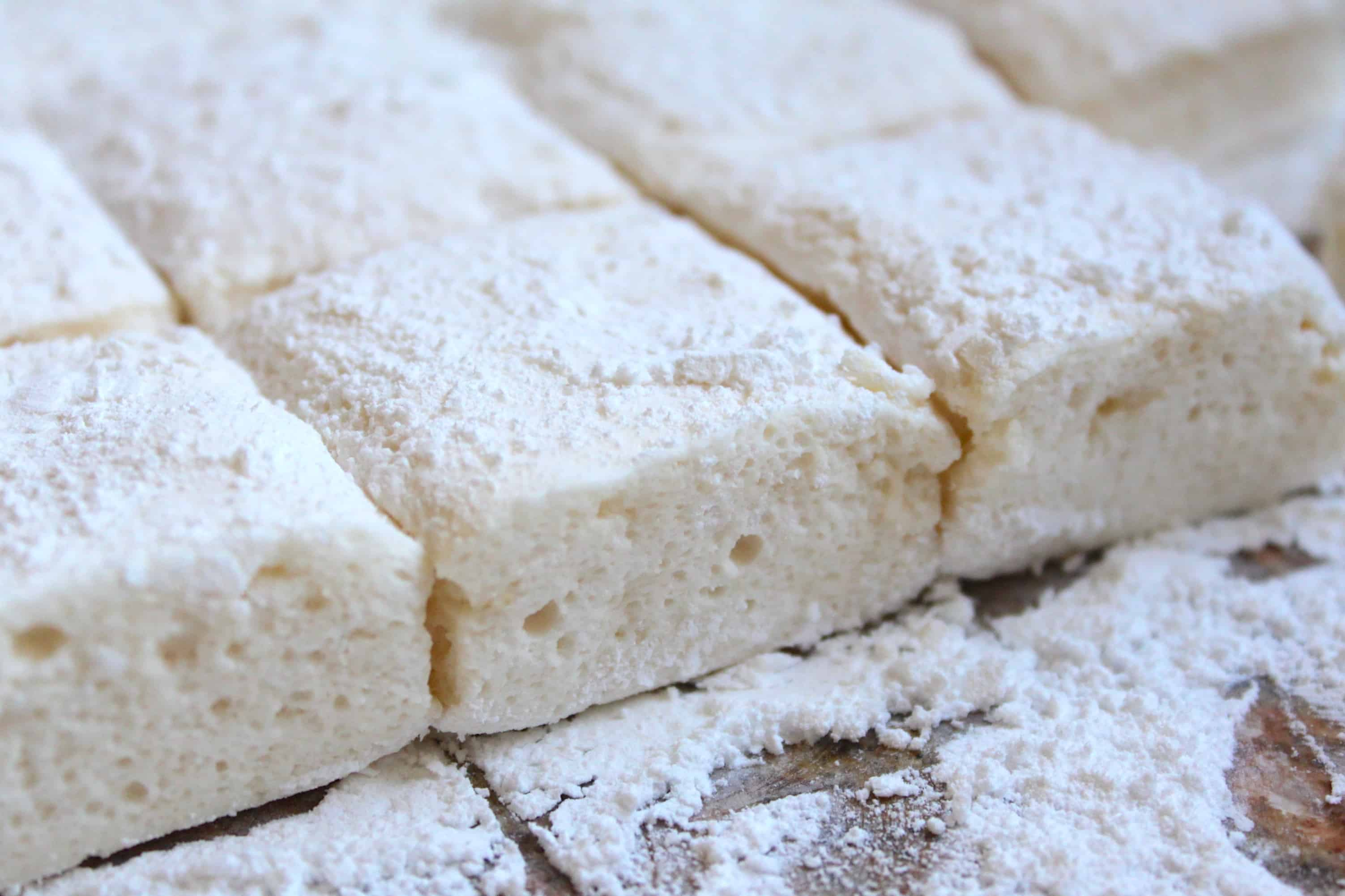 How to make marshmallows without gelatin