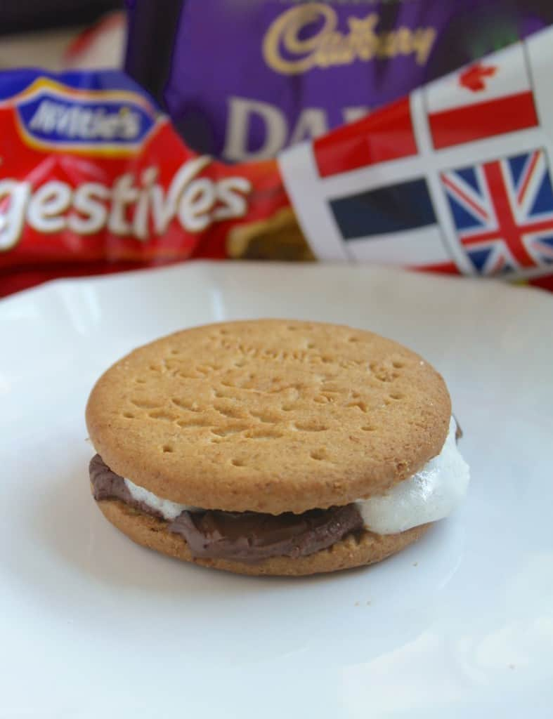 digestive british s'mores