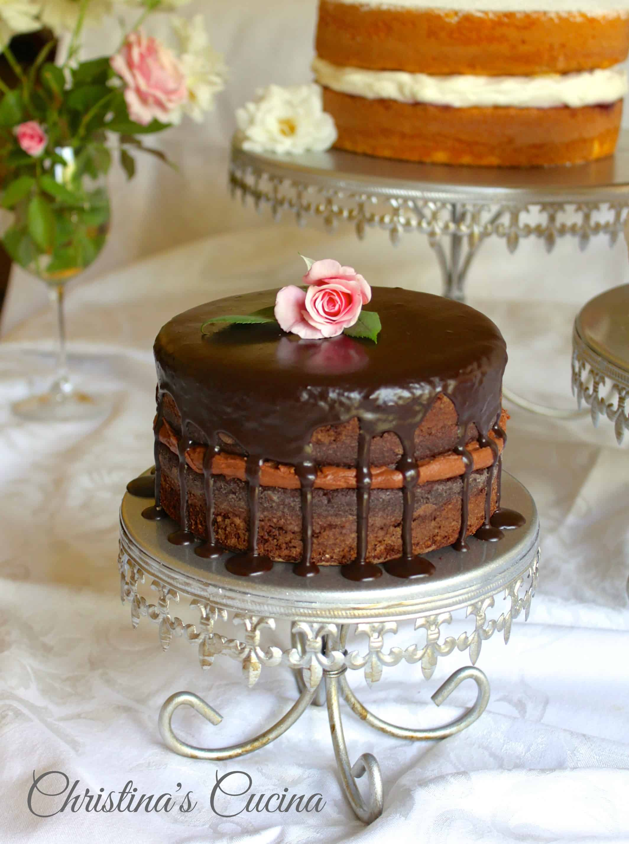 Decorated German Chocolate Cake A Cake Decorating Tutorial For Impressive Results For The Cake