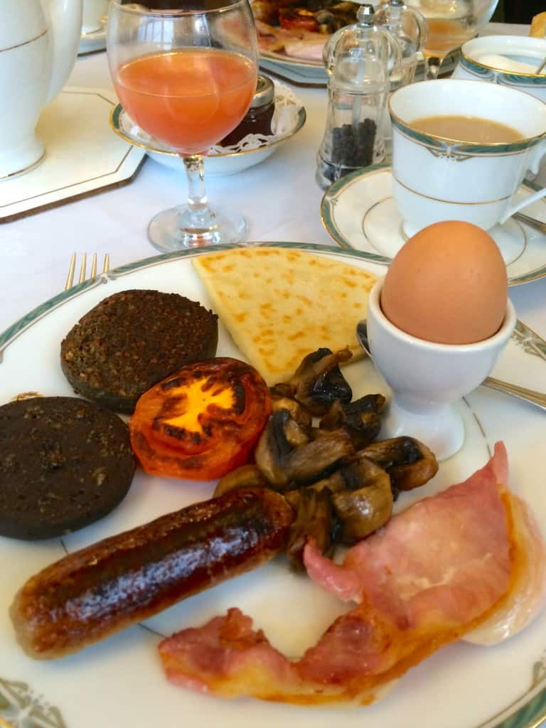 Carrmoor Guest House Breakfast