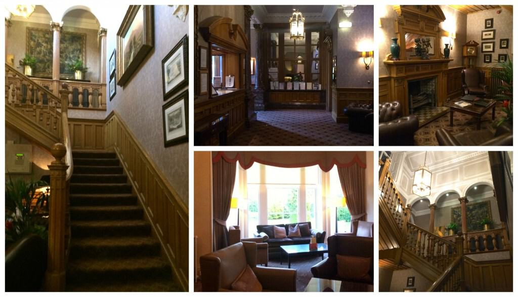 Norton House Hotel Lobby Collage