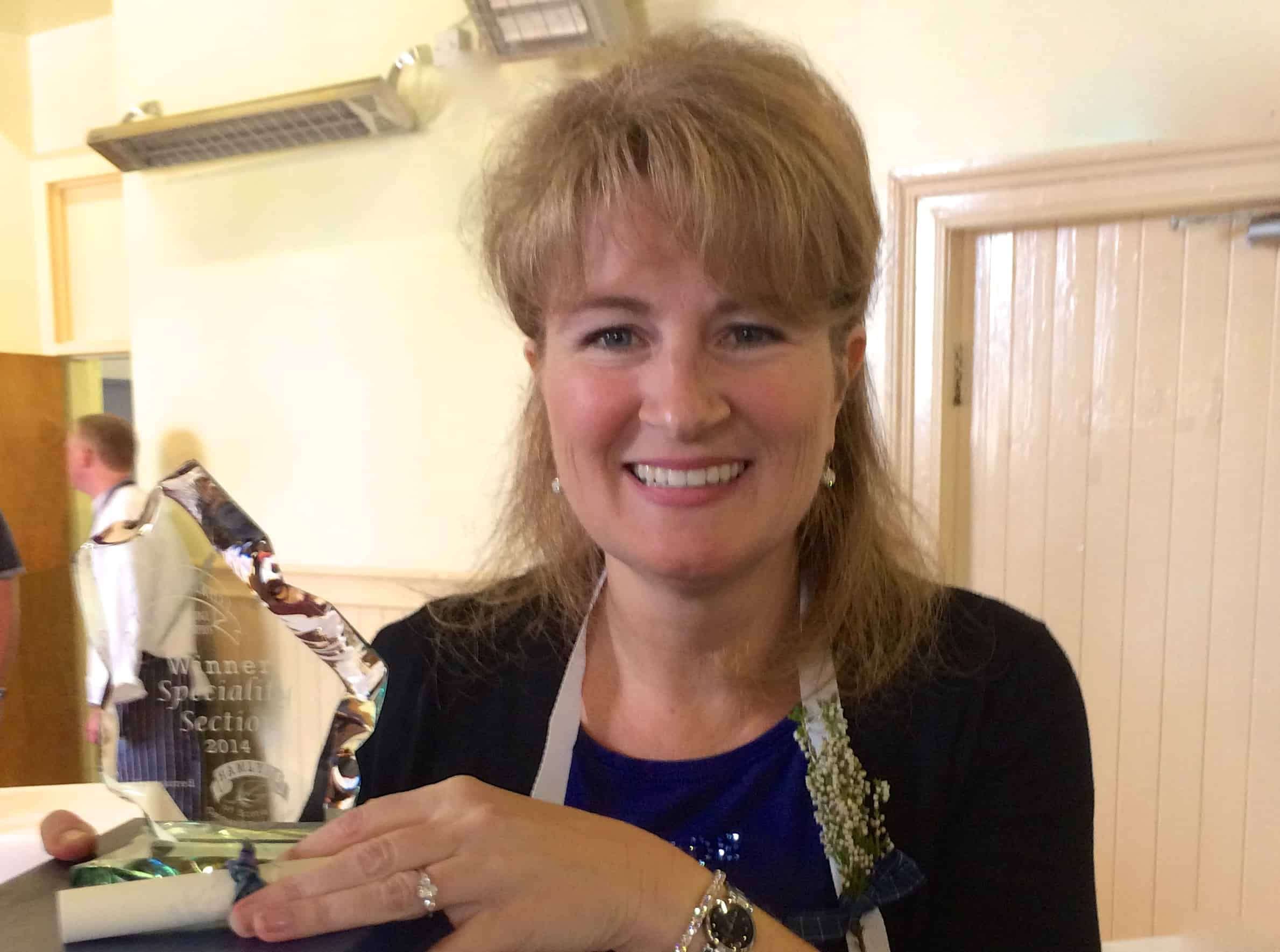 Golden Spurtle speciality winner work with Christina's Cucina