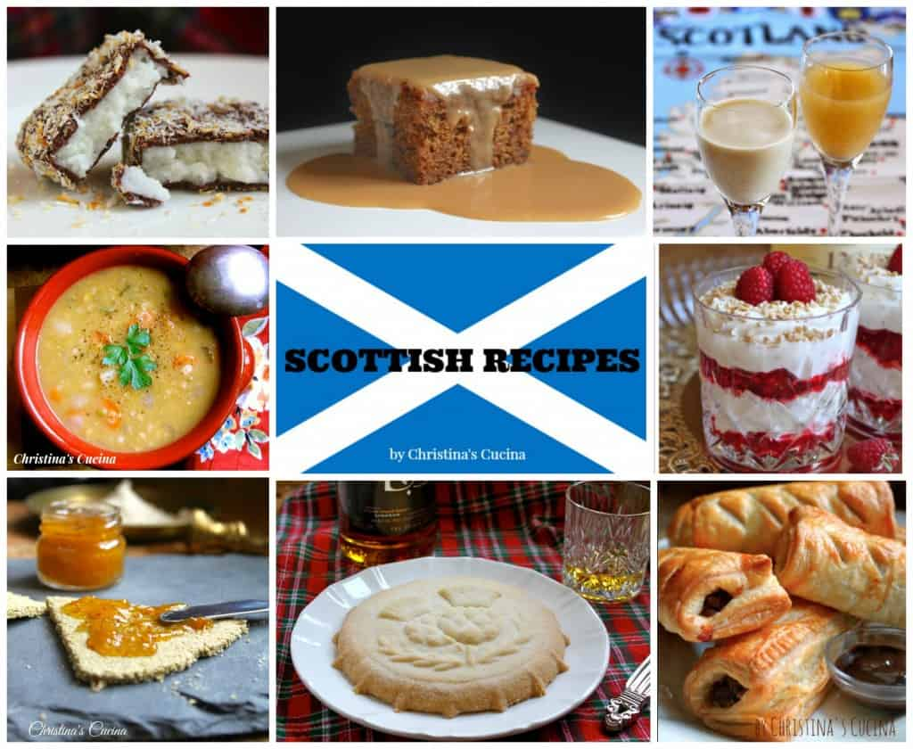 Scottish Recipes collage
