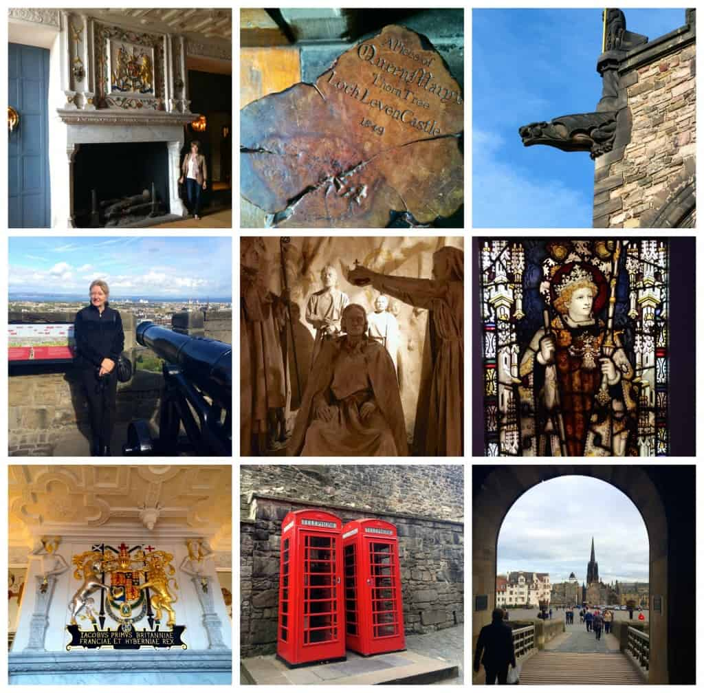 Edinburgh Castle collage 2