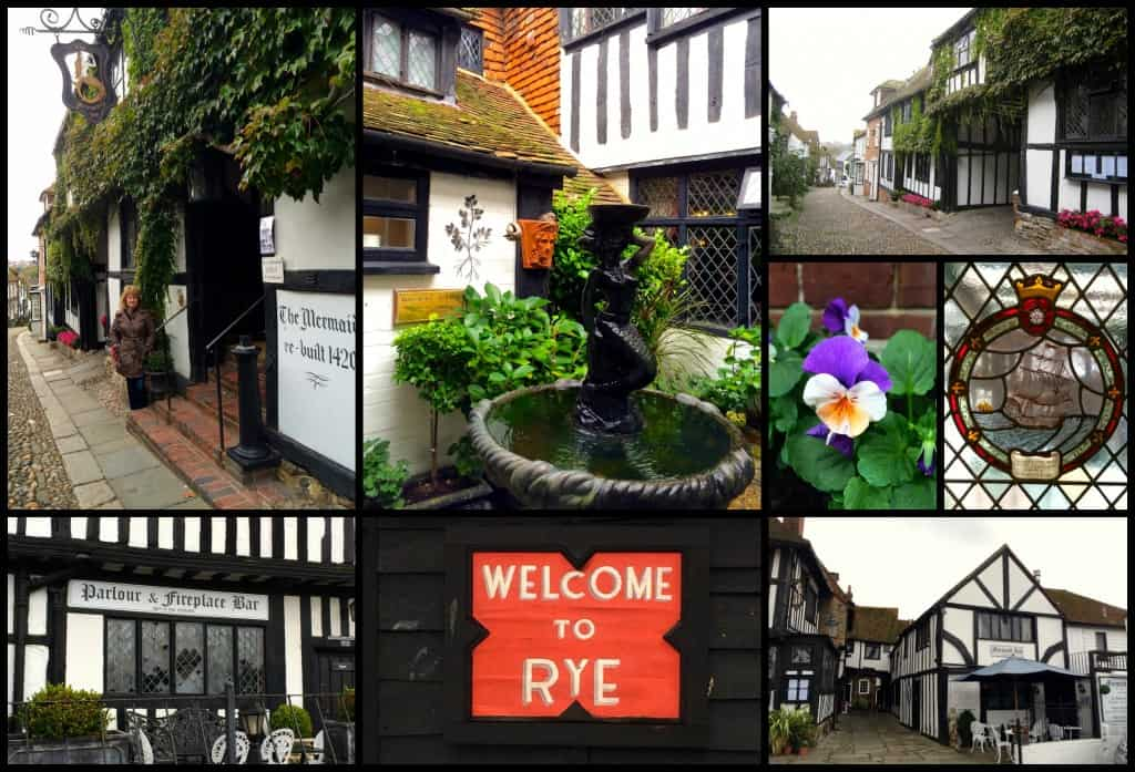 Exterior Mermaid Inn Collage