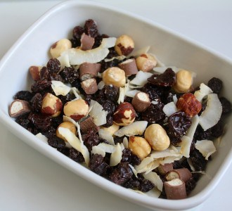 bowlful of trail mix