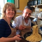 Casa Lawrence and a Recipe for Spaghetti Cacio e Pepe (Spaghetti with Pecorino Cheese and Black Pepper) Part 2