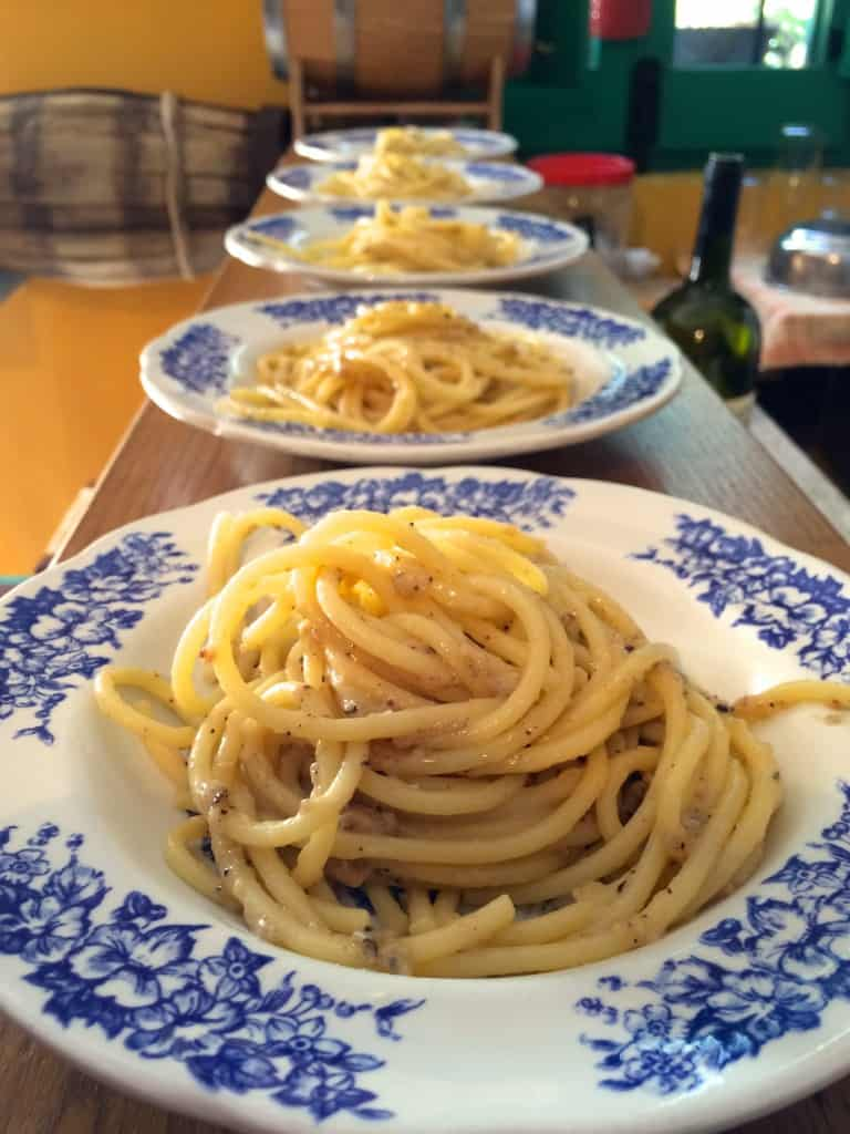 ... Spaghetti with Pecorino Cheese and Black Pepper) Part 2 - Christina's