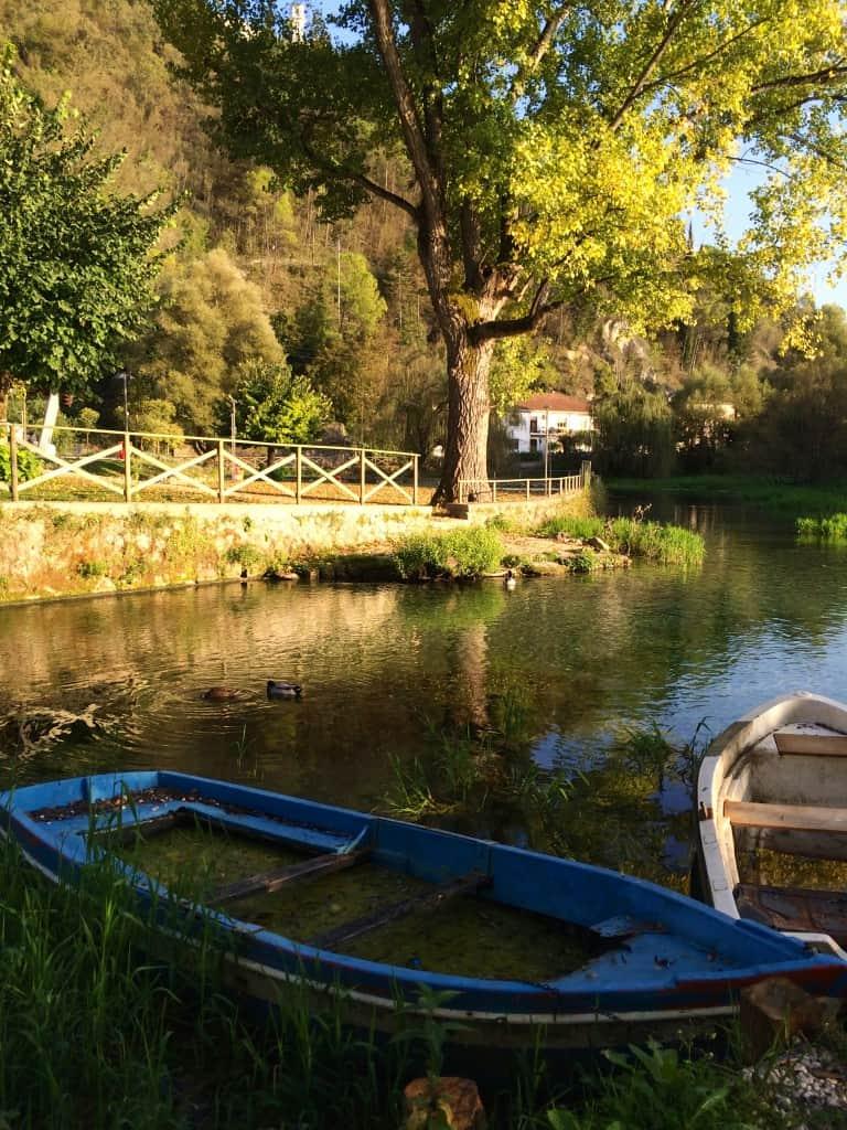 lago di posta fibreno boat