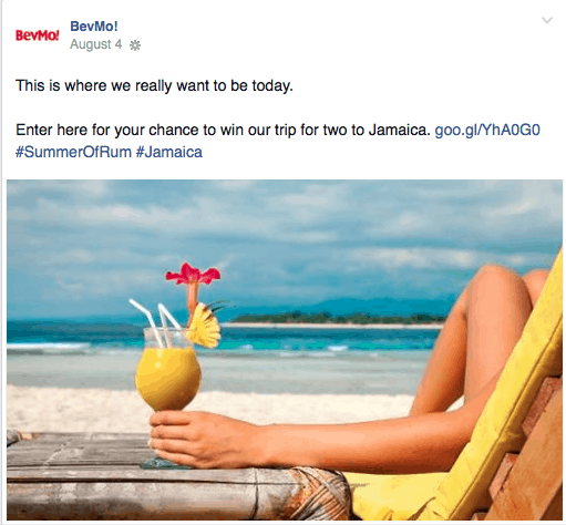 BevMo Summer of Rum Sweepstakes all-inclusive trip to Jamaica