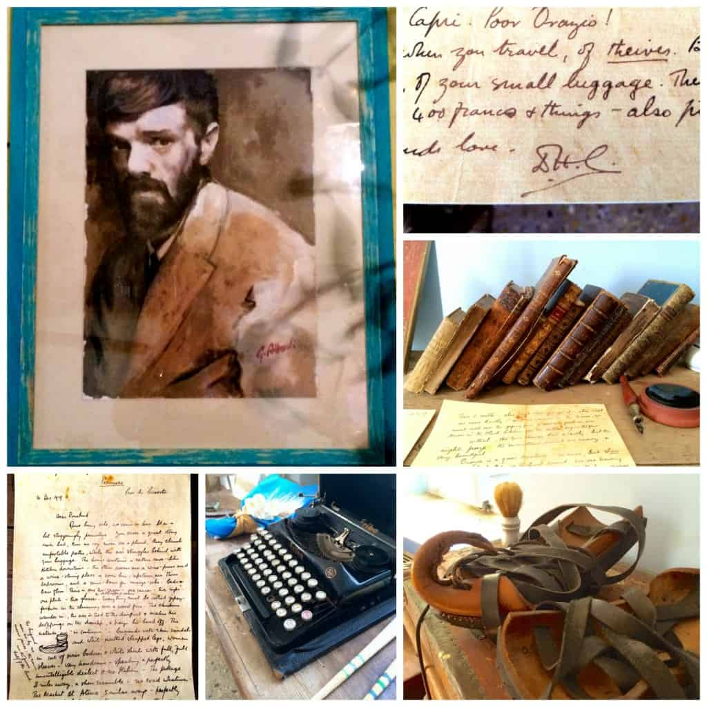 dh lawrence collage