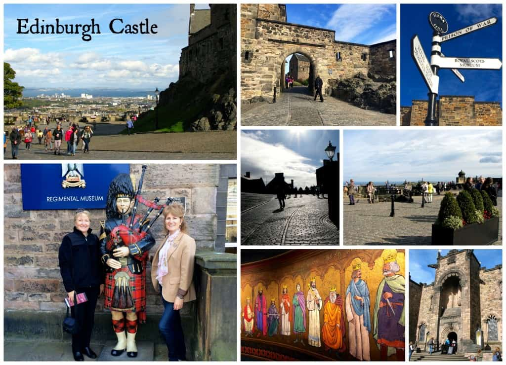 edinburgh castle collage